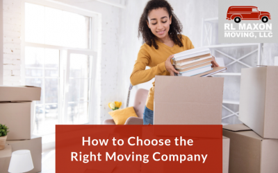 How to Choose the Right Moving Company for You