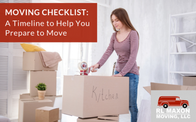 Moving Checklist: A Timeline to Help You Prepare for Relocating