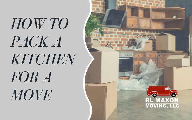 How to Pack a Kitchen for a Move
