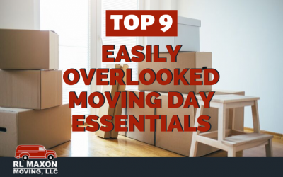 Top 9 Easily Overlooked Moving Day Essentials
