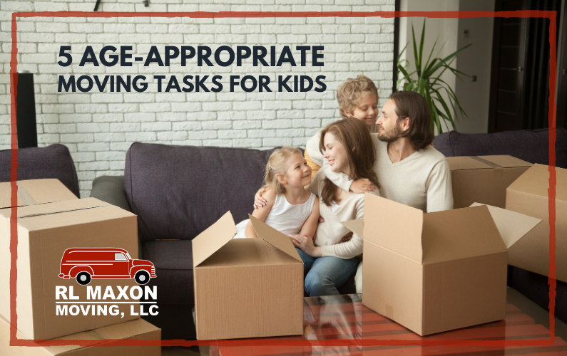 5 Age-Appropriate Moving Tasks for Kids When Relocating