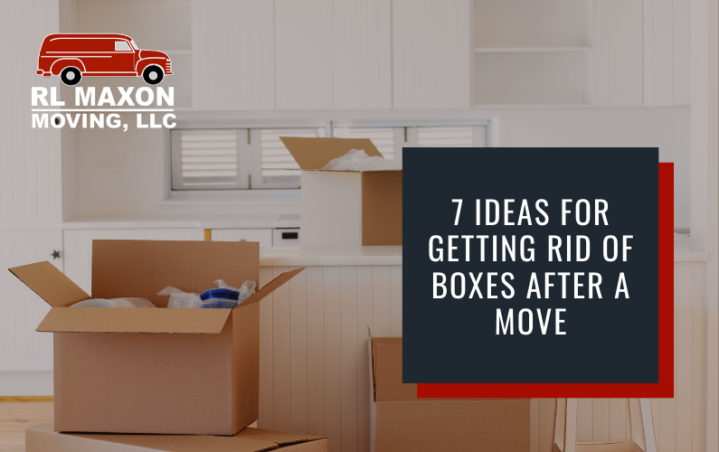 7 Ideas for Getting Rid of Boxes After a Move