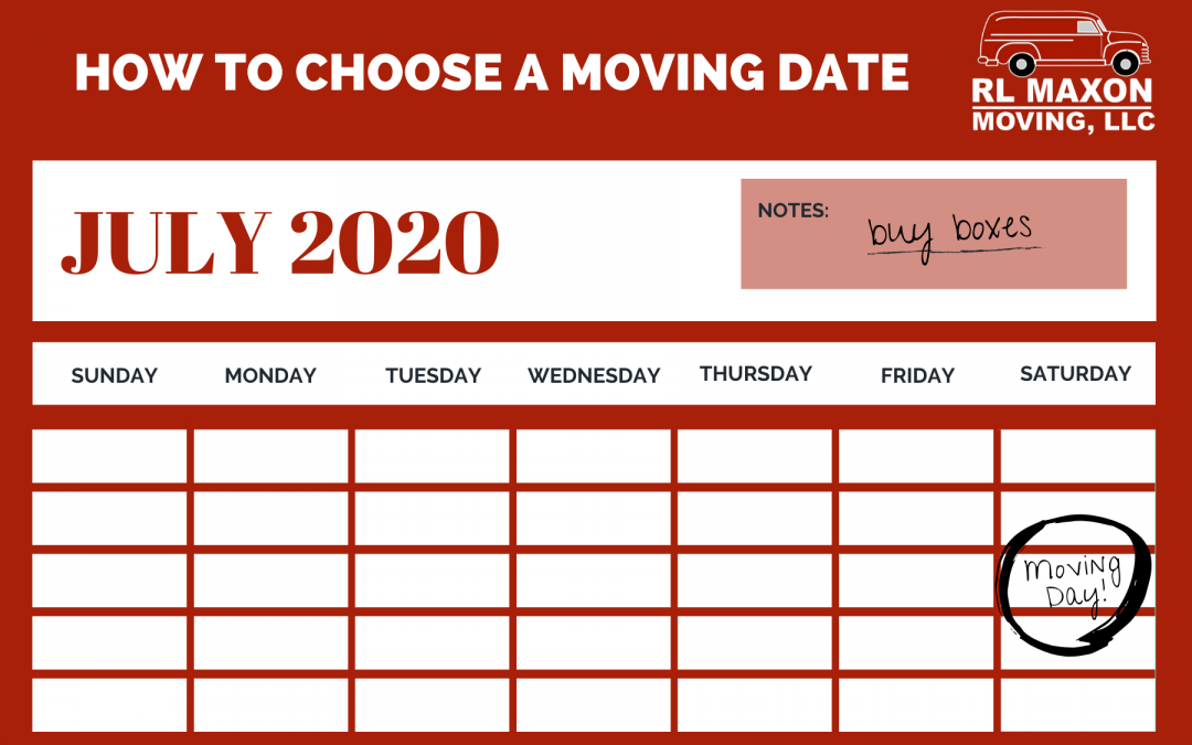 How to Choose a Moving Date