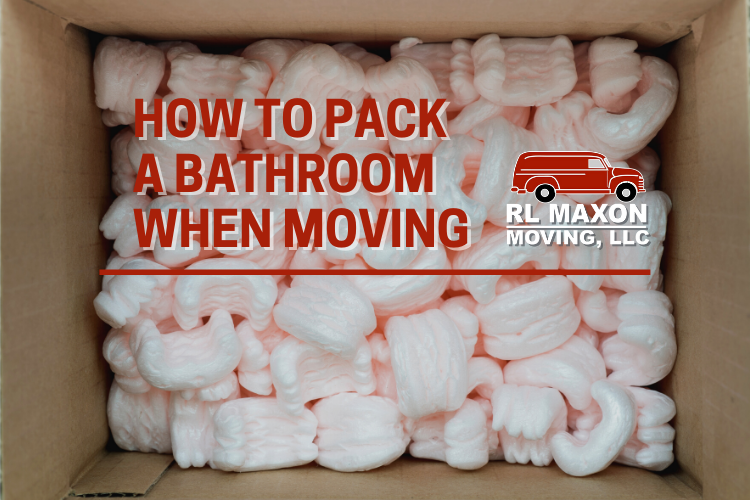How to Pack a Bathroom When Moving
